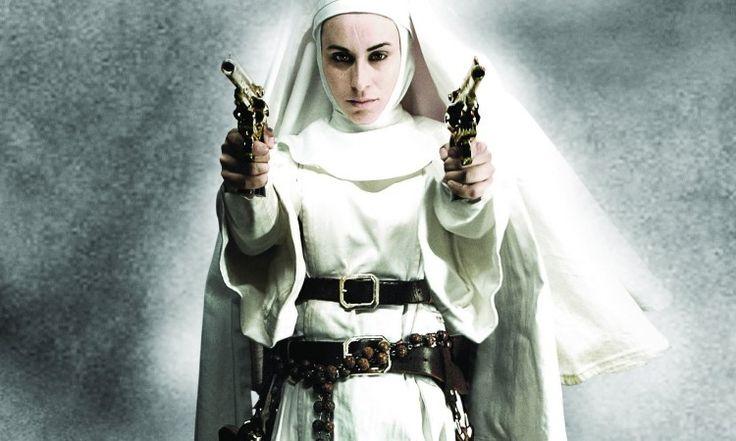 Монахини с большие пушки вектор - ForWallpaper.com