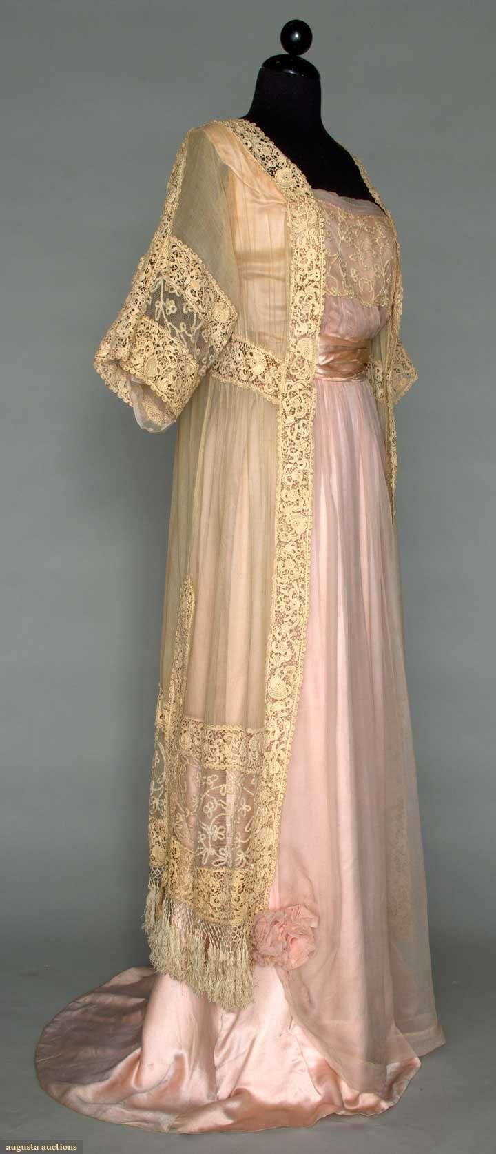 c. 1912 Edwardian gown