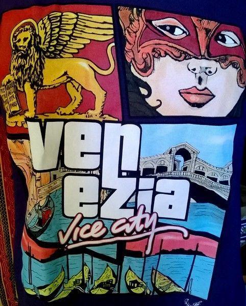 Collection Jeu Vidéo -T-shirt  dérivé GTA   - VENEZIA Vice City