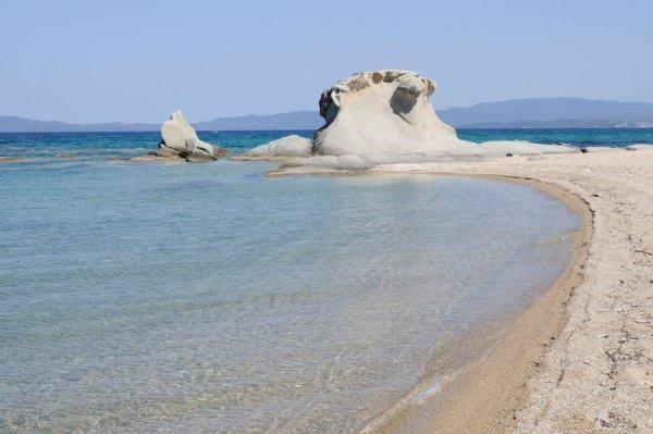 Ierissos Kakoudia beach-Chalkidiki,Greece