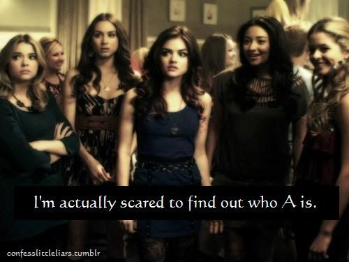 Mostly because that means PLL will be over :(