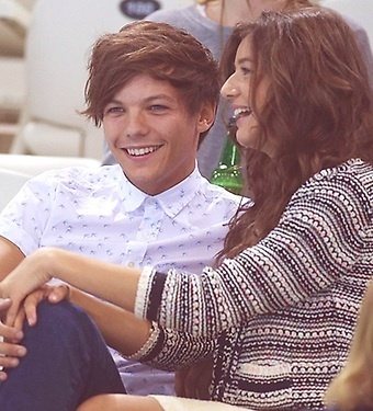 Louis and Eleanor :) CUTEST 1D COUPLE these 2 hav been together for aHEAPS LONG :D LOVE EM