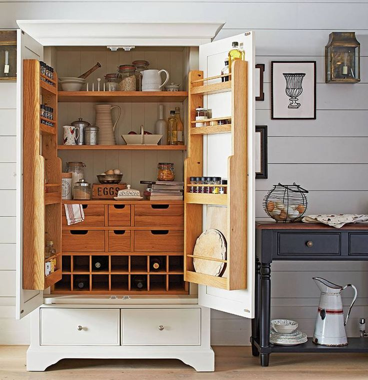 Simple Kitchen Unit: Best 25+ Kitchen Larder Units Ideas On Pinterest