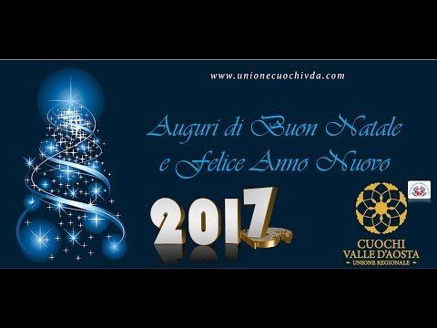 Tantissimi auguri di buon Natale e Felice 2017 | Unione Cuochi Valle d'Aosta