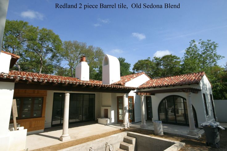 1000 images about spanish style home exterior on for Spanish style roof shingles