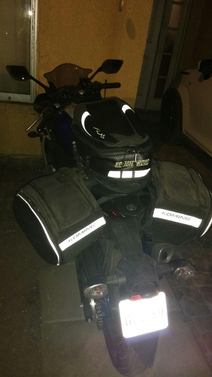 Alforjas y bolso de viaje para   Yamaha R3.
