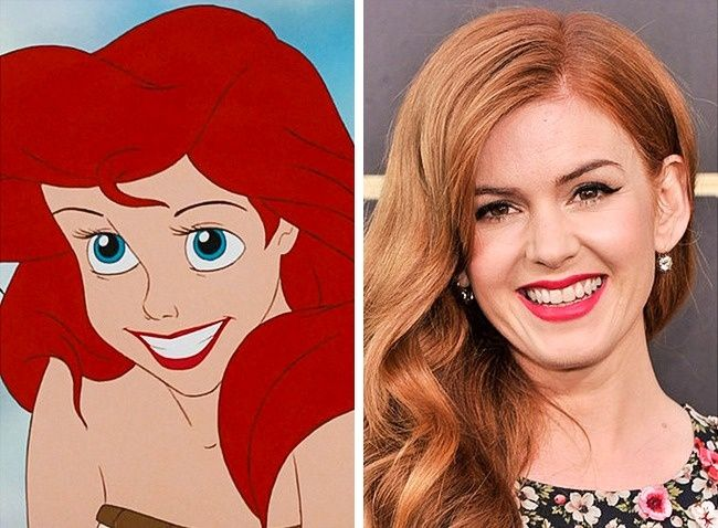 20Celebrities Who Look Exactly Like Disney Characters