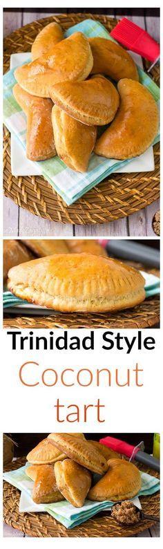 트리니다드 스타일 코코넛 타르트