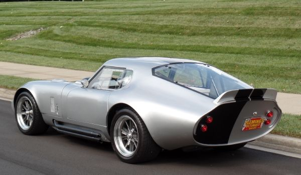 muscle cars for sale, and exotic cars for sale by Flemings Ultimate Garage - 1965 Shelby Cobra Daytona coupe - Classic cars for sale,