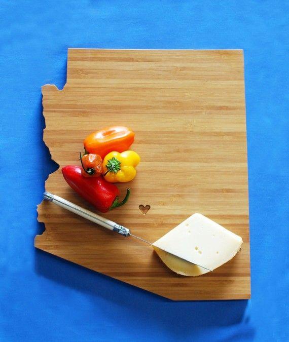 AHeirloom's Arizona State Cutting Board