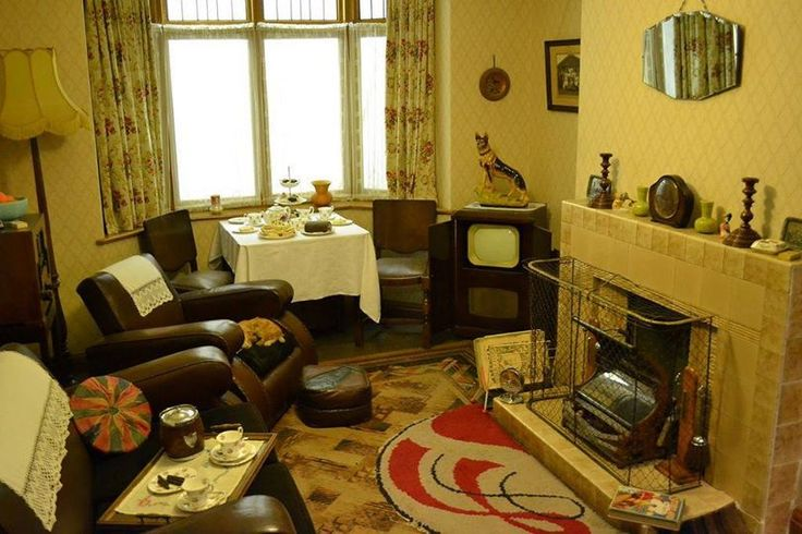 1950 S Front Room Nostalgia Childhood Memories
