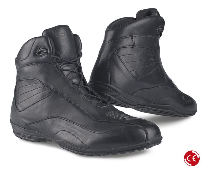 NORWICH HIGH Black #moto #motorbike #shoes #city