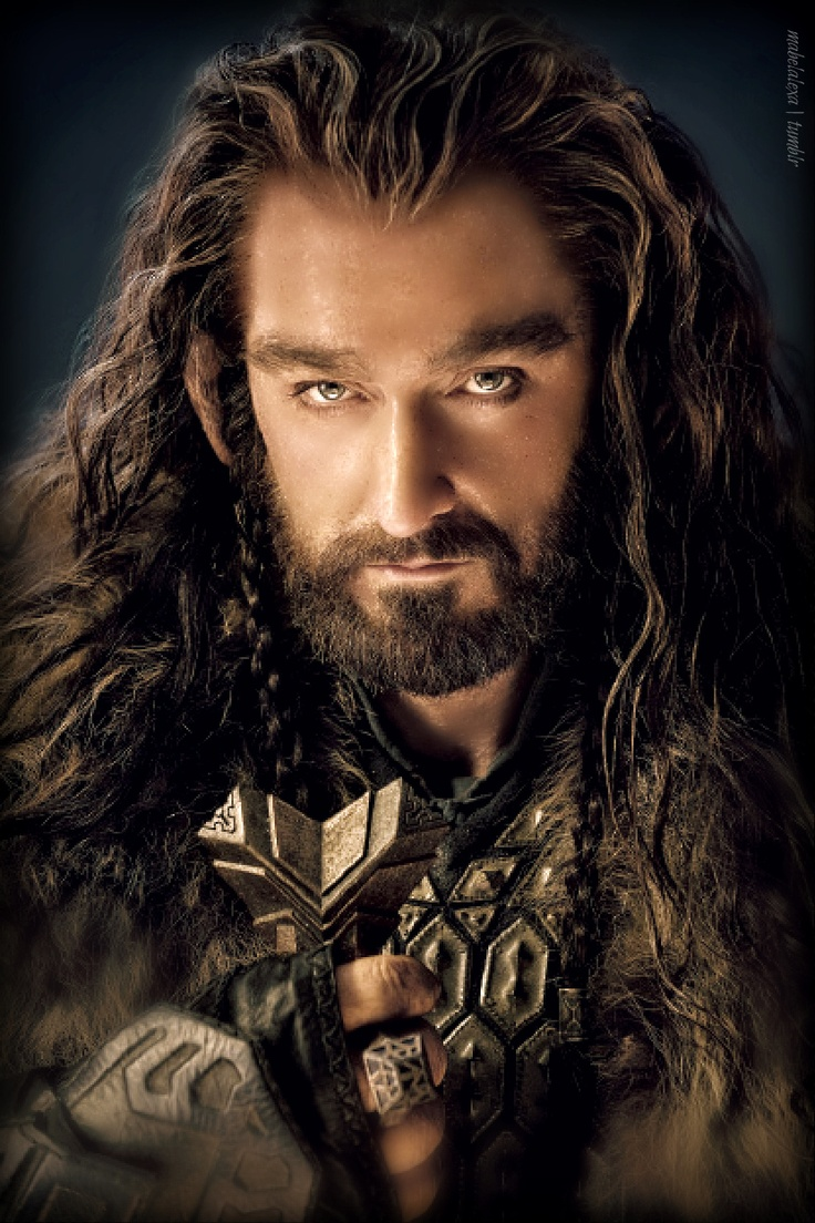 One should not find a hobbit so attractive. ...Richard Armitage - Thorin Oakenshield (EEEP!!)