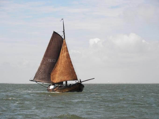 Old ship, Zuiderzee Botter