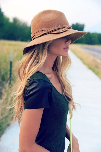 There's just something special about a woman in a HAT