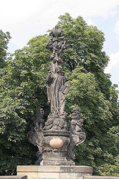 Svatý Kajetán pro Kar. most / F.M./1709