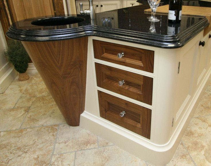 Log Home Kitchen Etc. KIT9690 | Luxury Kitchens Walnut 2
