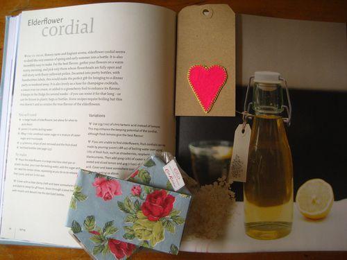 Elderflower Cordial (Elderflower = flor de sauco)