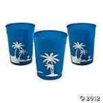 plastic cups: Parties Supplies, Luau Tumblers, Birthday Parties, Luaus, Parties Ideas, Hawaiian Luau, Parties Glasses, Plastic Luau, Tumblers Glassescupstrop