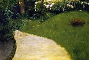 Garden Path - Frank Vincent DuMond - The Athenaeum