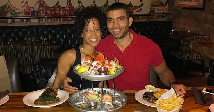 Couple only eat one massive calorie-laden meal every day and it works