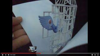 HIROKO's Pop-Up Art Blog: ウェディングにお勧めのポップアップカード/free printable wedding pop-up cards