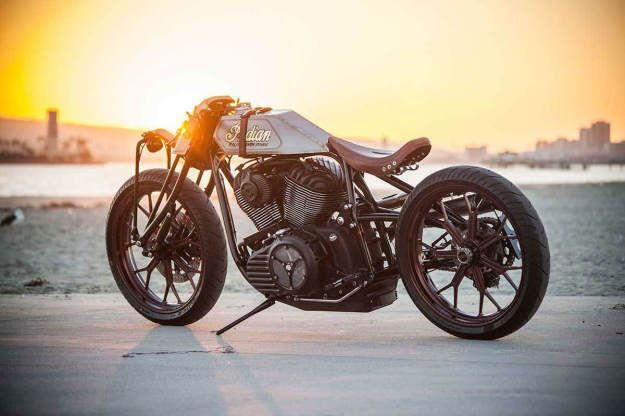 """Roland Sands x Indian: """"Track Chief"""""""