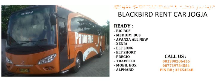 SEWA BUS DAN MOBIL JOGJA  call : 081390206456 / 087739784584 / pin bb : 32e54e4b #blackbird rent car