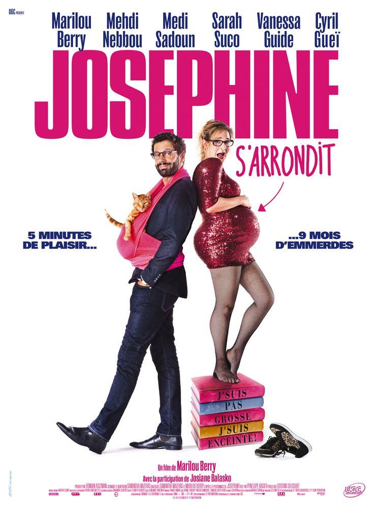 """♥♥♥ """"Joséphine s'arrondit"""", une comédie de Marilou Berry avec Marilou Berry, Mehdi Nebbou, Sarah Suco... (02/2016)"""