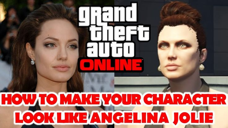 How to make your character look like Angelina Jolie. Full customization video. I am working on a dozen other celebs and will upload soon. #GrandTheftAutoV #GTAV #GTA5 #GrandTheftAuto #GTA #GTAOnline #GrandTheftAuto5 #PS4 #games