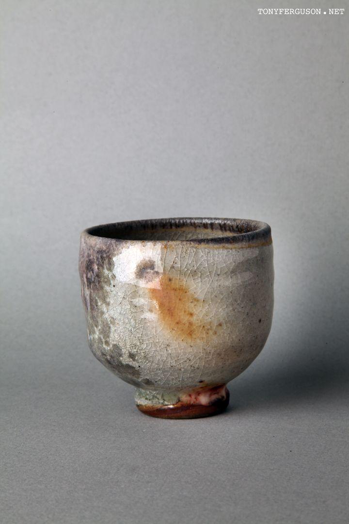 Cone 13 Anagama Wood firing chawan tea bowl chado matcha tony ferguson