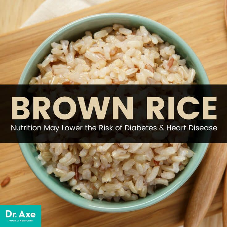 Brown rice nutrition - Dr. Axe http://www.draxe.com #health #holistic #natural