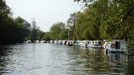 The Norfolk Broads at Wroxham