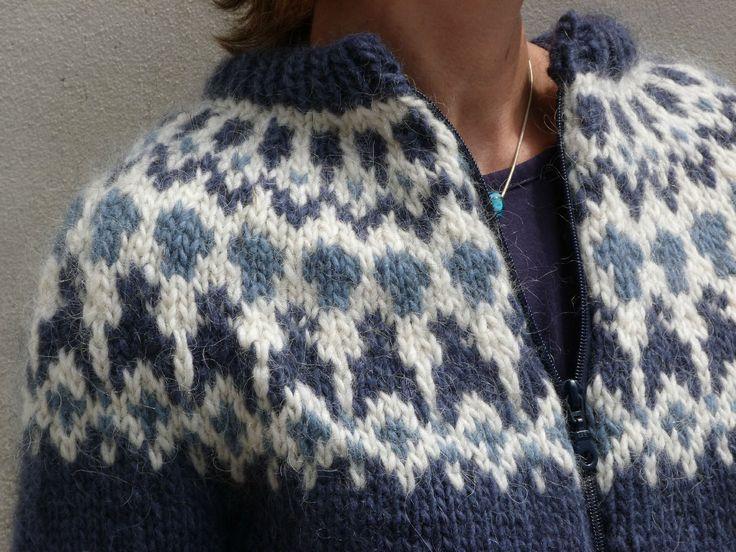 Icelandic Wool sweater lopapeysa