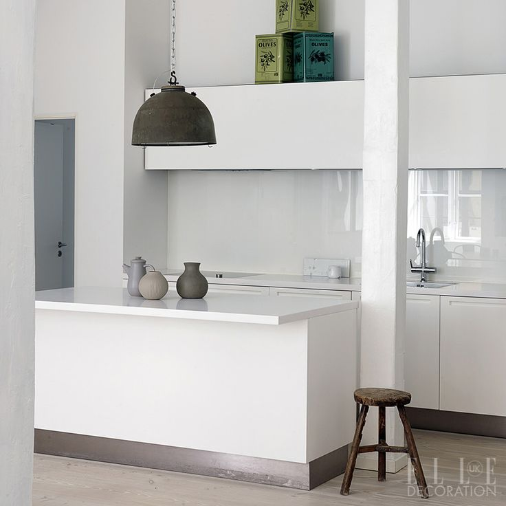 97 best kitchens images on pinterest contemporary unit for Kitchen ideas elle