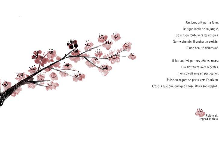Dessin cerisier japonais ou la fleur de cerisier id es - Dessin fleur de cerisier ...