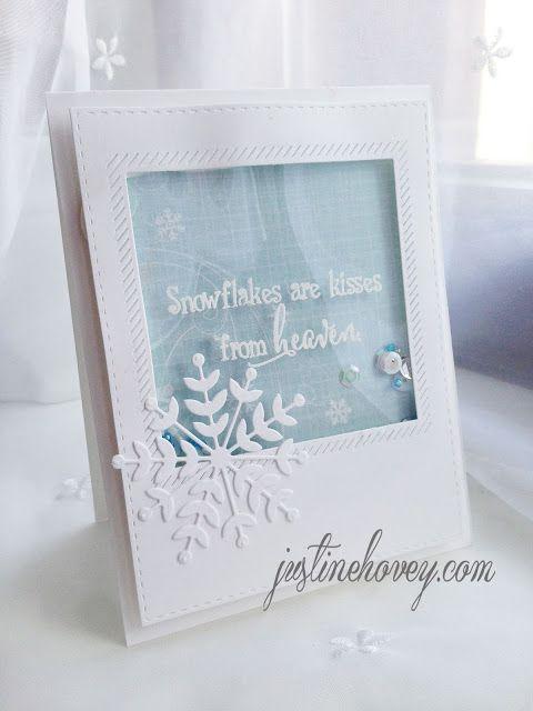 Project: Winter Shaker Card