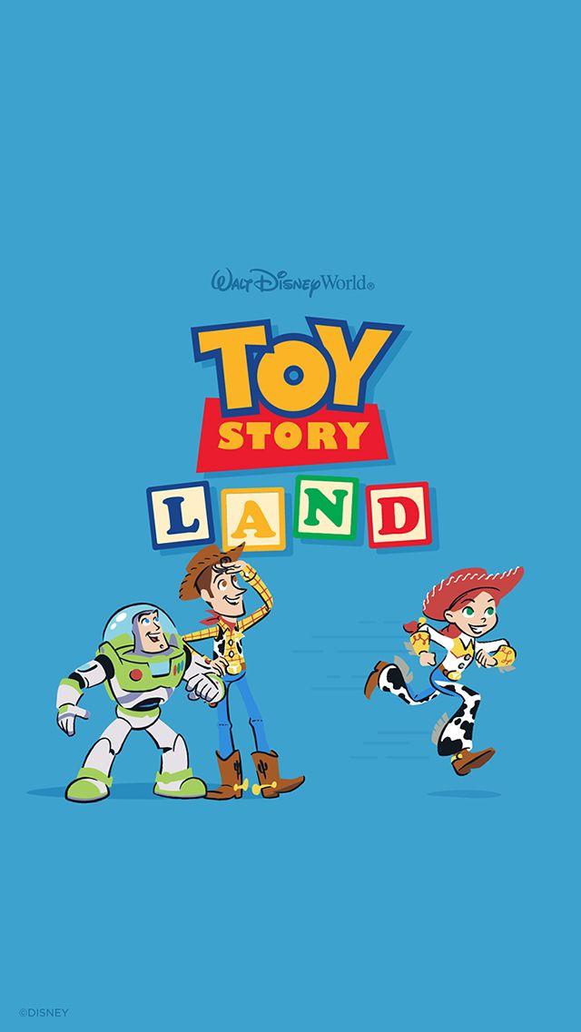 Toy Story Land Wallpaper Mobile Disney Disney Wallpaper