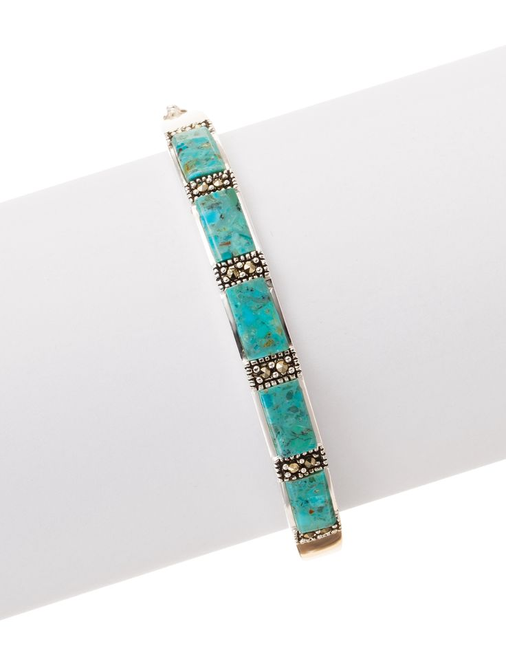 Shop today for Fine Silver Plated Marcasite Turquoise Bangle & deals on Bracelets! Official site for Stage, Peebles, Goodys, Palais Royal & Bealls.