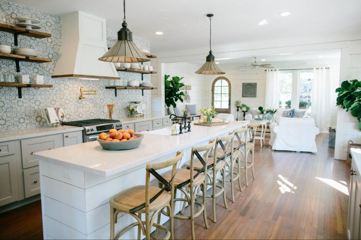 The Beanstalk Bungalow   Season 3   Fixer Upper   Magnolia Market   Kitchen   Chip & Joanna Gaines   Waco, TX