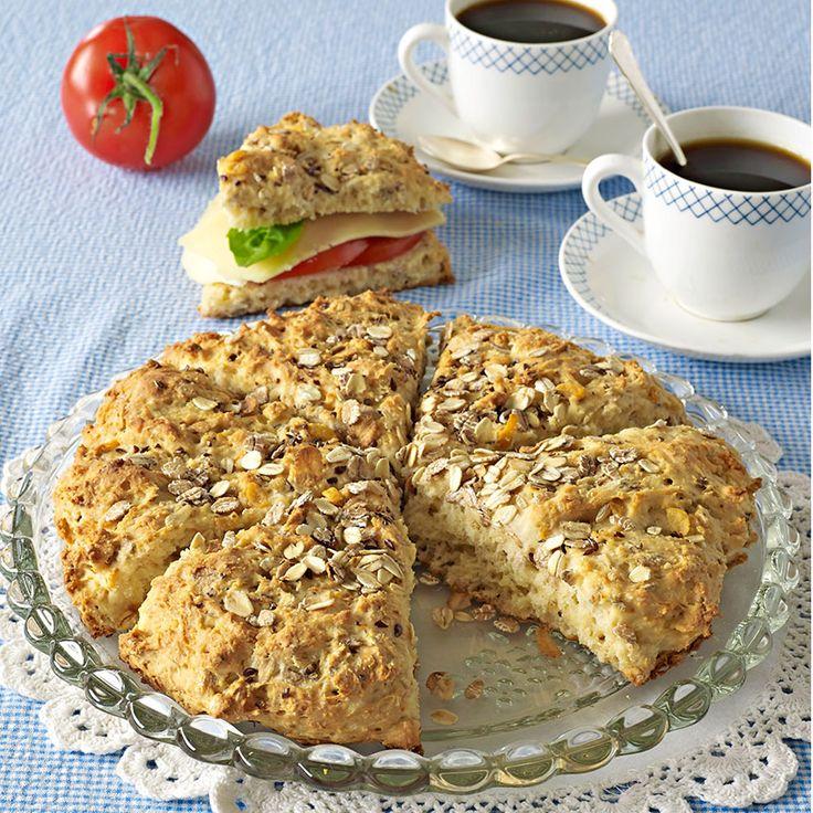 Müsli i brödet gör det extra gott och smakrikt.