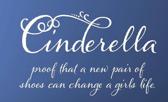 I need to find some wall space for this! Cinderella  children  Vinyl Lettering wall by itswritteninvinyl, $22.44