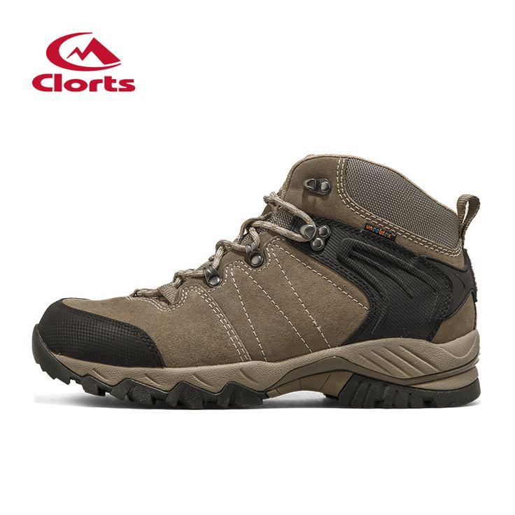Мода 2015 Clorts высокие походные ботинки водонепроницаемые альпинистские ботинки дышащий non-slip скальные туфли для человека HKM-822A/G