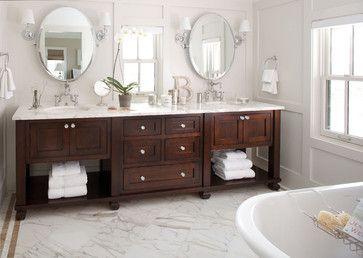 Traditional Bathroom- Bath Vanity - farmhouse - Bathroom - Denver - Chalet
