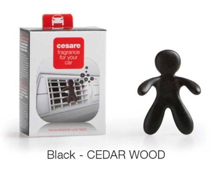 Mr & Mrs Fragrance Car Air Freshener Cesare Long Lasting Black Cedar Wood #Mrmrs
