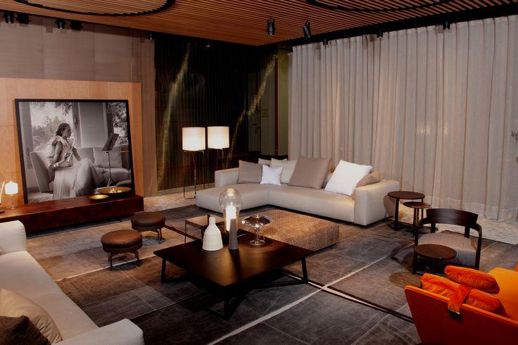 new flexform lario sectional sofa designed by antonio. Black Bedroom Furniture Sets. Home Design Ideas