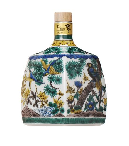 【650本限定】サントリーウイスキー 響21年 スペシャルボトルコレクション 2012 九谷焼   timein.jp