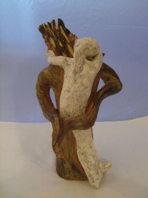 Trost skulptur aus ton kontakt for Gartenskulpturen aus ton
