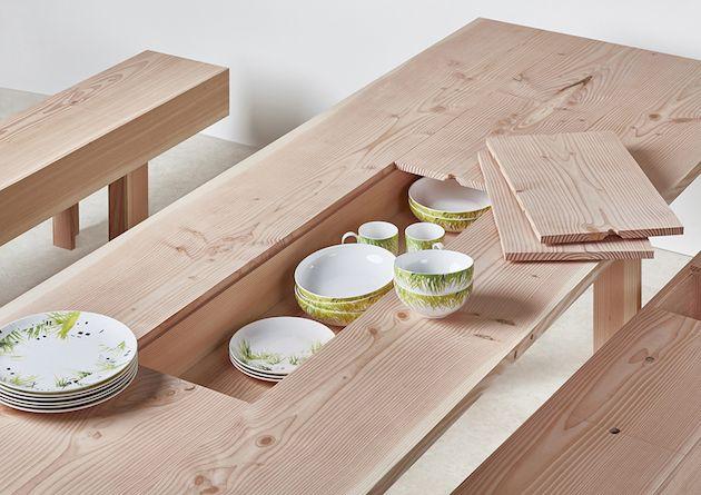 Hidden Compartment Furniture feel desain Max Lamb 02                                                                                                                                                     More