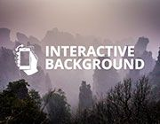 Create an Interactive Moving Background or Object that Reacts to Viewer's Cursor…